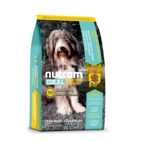 Nutram Ideal Sensitive Dog - Skin, Coat & Stomach корм для собак с проблемами ЖКТ кожи и шерсти 13,6 кг.